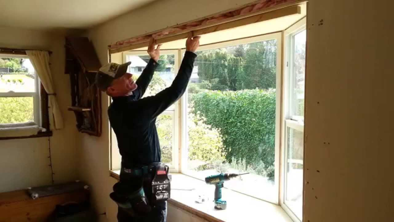 How To Install A Window Build 8 Bay Window For 500