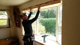 How To Install A Window – Build 8' Bay Window For $500 – Part 35