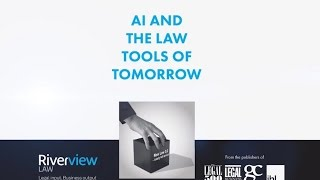 AI and the Law Tools of Tomorrow highlights(, 2016-08-25T12:21:32.000Z)
