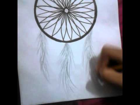 Como Pintar Penas De Um Filtro Do Sonho Youtube