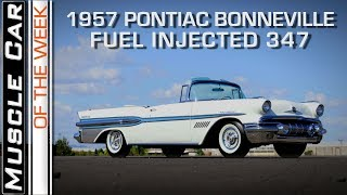 1957 Pontiac Bonneville Fuel Injection Convertible: Muscle Car Of The Week Video Episode 236 V8TV