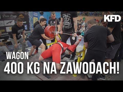 Grzegorz Wałga - 400kg na zawodach! WYCISNĄŁ! - KFD