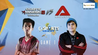 Repeat youtube video EST Cebu - Mineski vs Arcanys Game 1 Casted By Dunoo and Lon