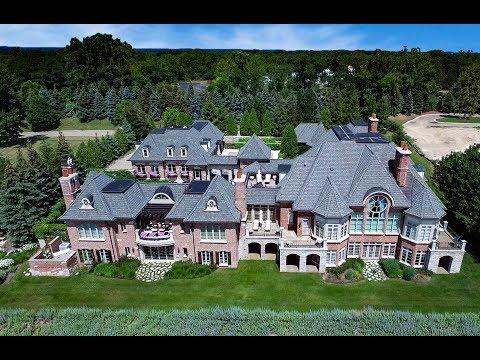 Luxury Home - Turtle Lake Bloomfield, MI FOR SALE @10,550,000