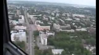 Воздушная прогулка над городом Иваново