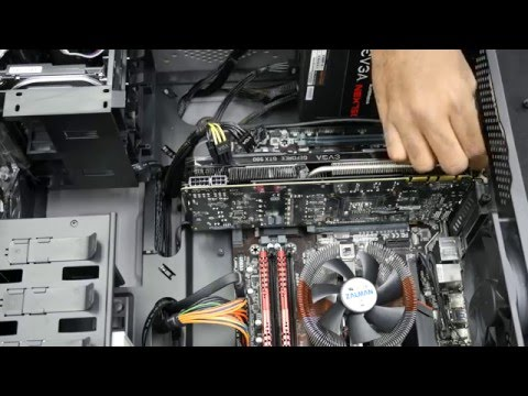 Digital Storm How-To #1: Remove Graphics Card - YouTube