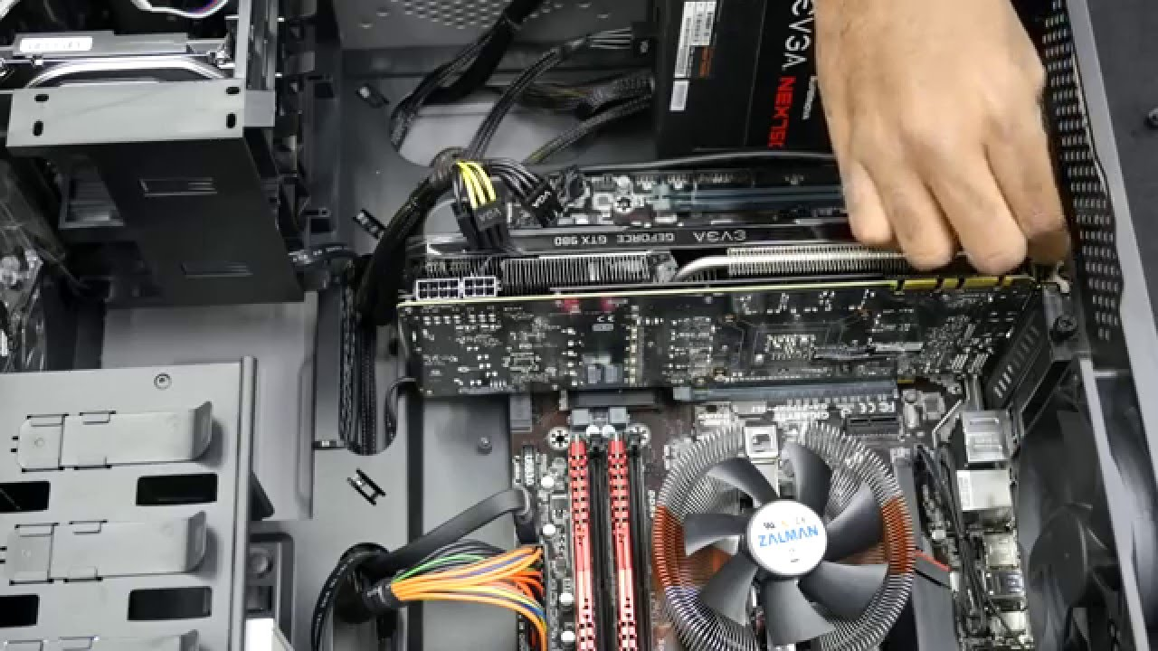 Digital Storm How To 1 Remove Graphics Card Youtube