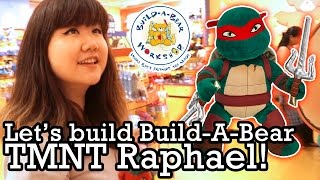 Let's Build Build-a-bear Tmnt Raphael - Teenage Mutant Ninja Turtles - Bab Workshop