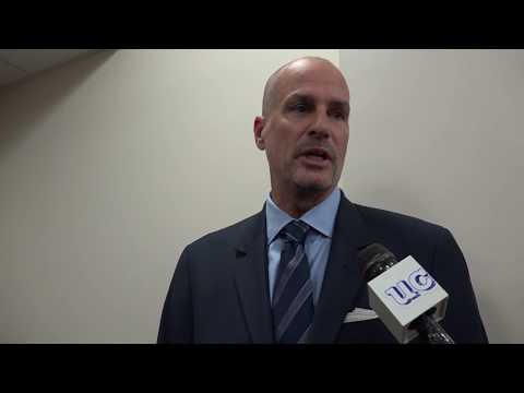 Jay Bilas Speaks Before UConn vs. Syracuse