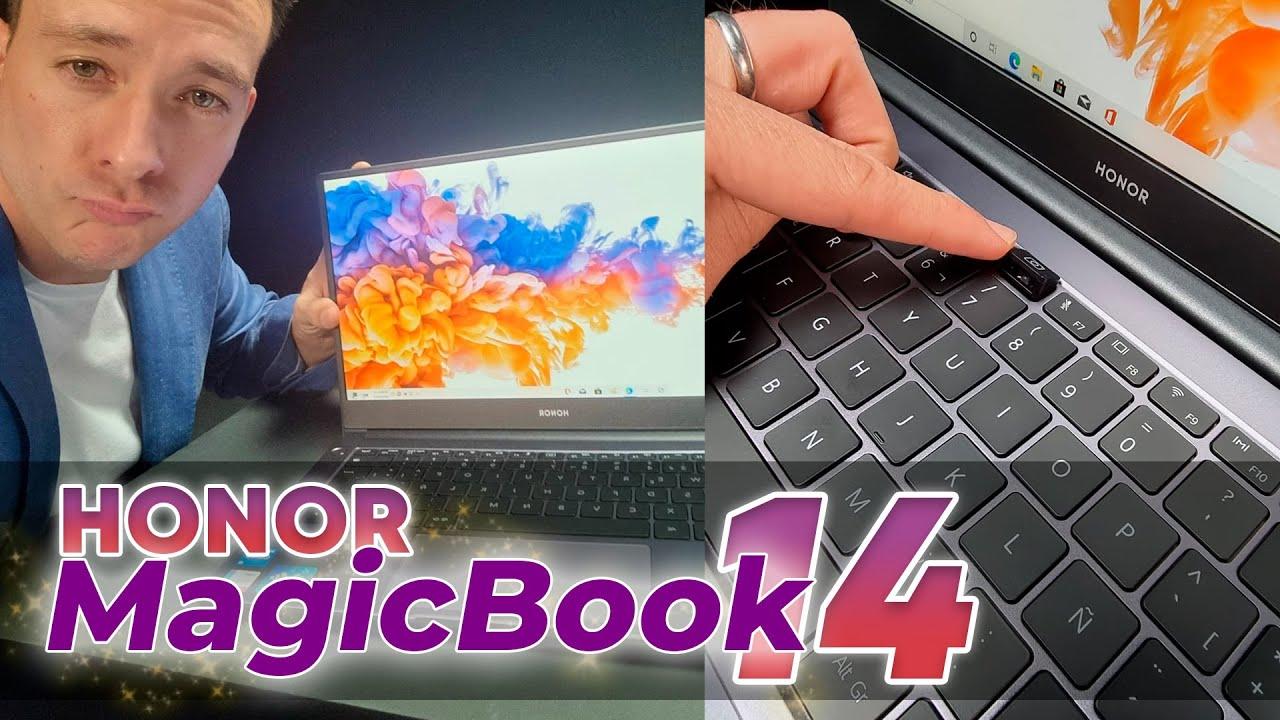 Honor MagicBook 14 - nueva ultrabook favorita para trabajar