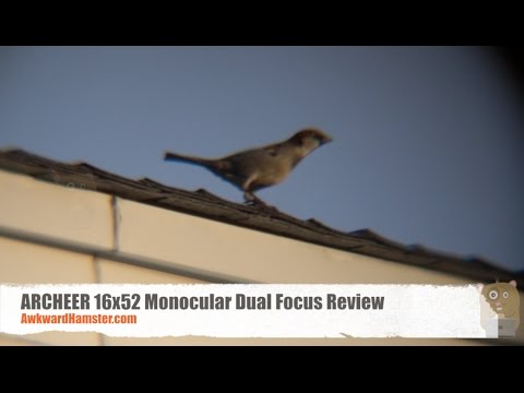 Archeer 16x52 monocular dual focus review youtube