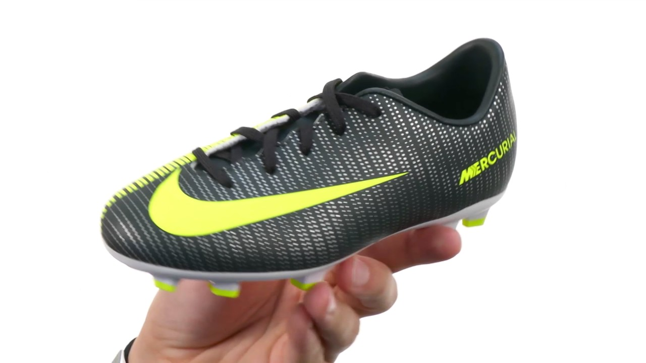 98122156d2c1 Nike Kids Jr Mercurial Vapor XI CR7 FG Soccer (Toddler Little Kid Big Kid)  SKU 8755686
