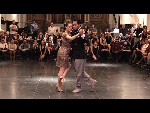 Tango: Laura D'Anna y Sebastian Acosta, 2016, Milonga de Gante, 2/3