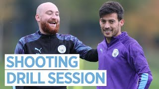 SHOOTING DRILLS! | Man City Training