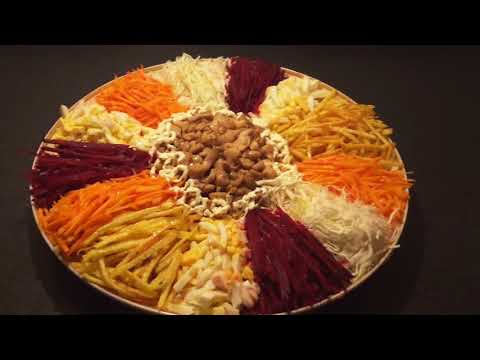 Afghan cooking channel, cooking for u french salad