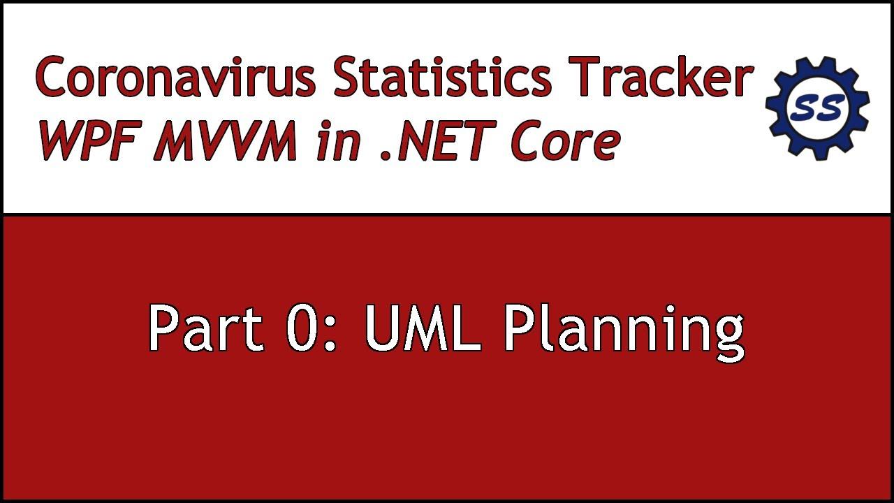 UML Planning - CORONAVIRUS WPF MVVM IN .NET CORE #0 - YouTube
