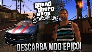 DESCARGA GTA SAN ANDREAS MOD REMASTERIZADO COMO GTA V!! ANDROID APK