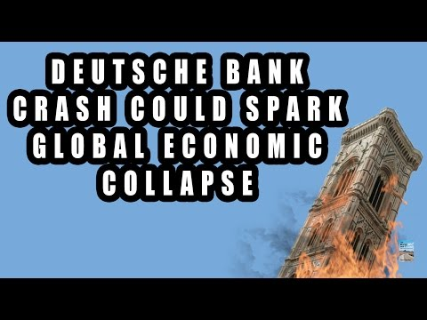 Hedge Funds SHORT Deutsche Bank Forcing Germany to Need BAILOUT!