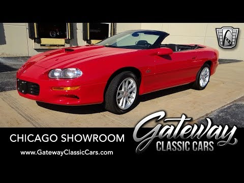 2002 Chevrolet Camaro Z28 SS 35th Anniversary Edition - Gateway Classic Cars #1676 Chicago