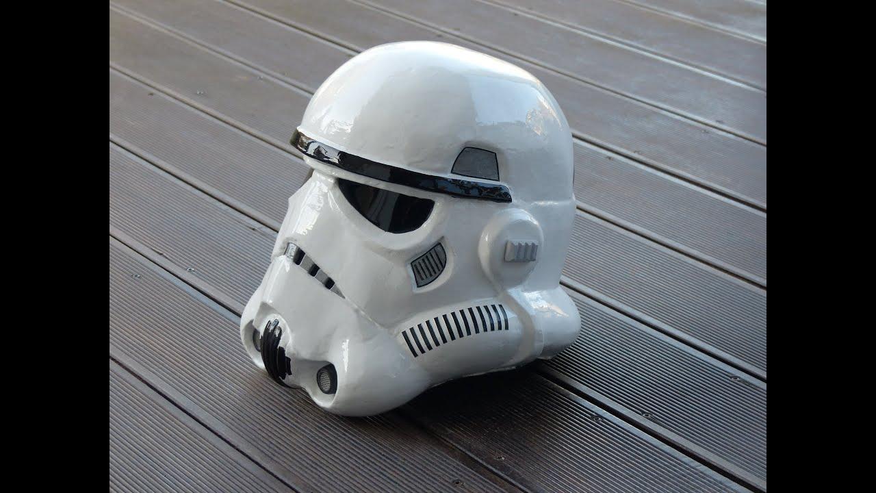 star wars rogue one making stormtrooper helmet selber bauen pepakura pepacraft 66target. Black Bedroom Furniture Sets. Home Design Ideas