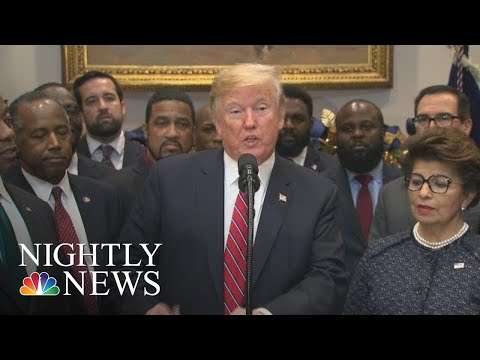 Trump Opportunity Zones Policy Sparks Questions If Family Business Could Benefit | NBC Nightly News