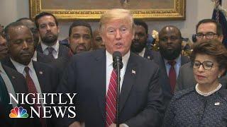 trump impeached in 2019