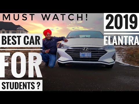 2019 Hyundai Elantra Detailed Review - Best Car For Students In Canada?