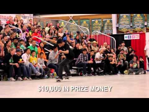 World Round Up 2015 Freestyle Skateboard Championship