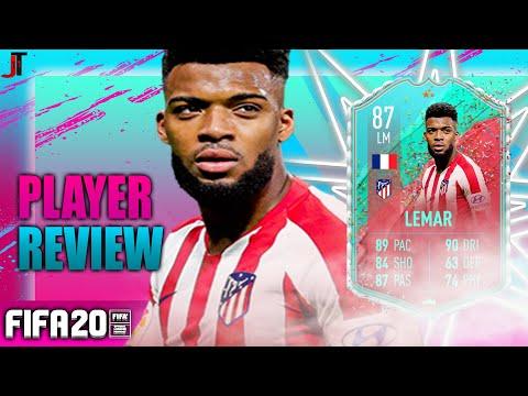 FIFA 20 FUT BIRTHDAY LEMAR 87 PLAYER REVIEW