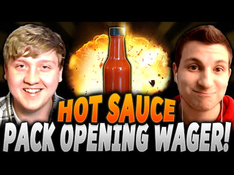 HOT SAUCE PACK OPENING WAGER! | AGAINST S1L3NT GAMING! | MUT 16 PACK OPENING