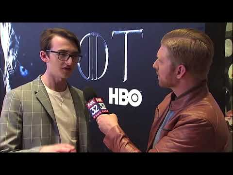 Isaac Hempstead Wright (Bran Stark) Interview for GAME OF THRONES