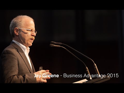 Business Advantage 2015 - Design Is How It Works -  Jay Greene