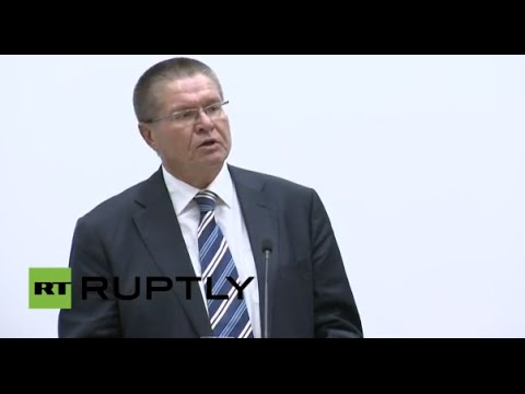 LIVE: Ulyukaev speaks at 'Perspectives on economic relations with Russia' conference in Stuttgart