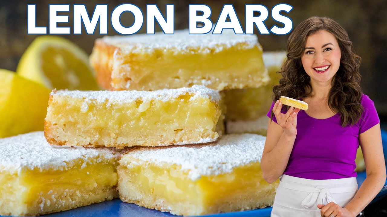 How To Make Classic LEMON BARS - Easy Recipe