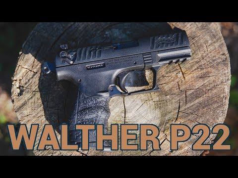 Walther P22: My Fist Plinker and Carry Gun