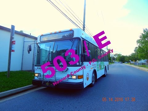 RTA of Central Maryland: Route 503/E to Columbia Mall -- FULL RIDE!