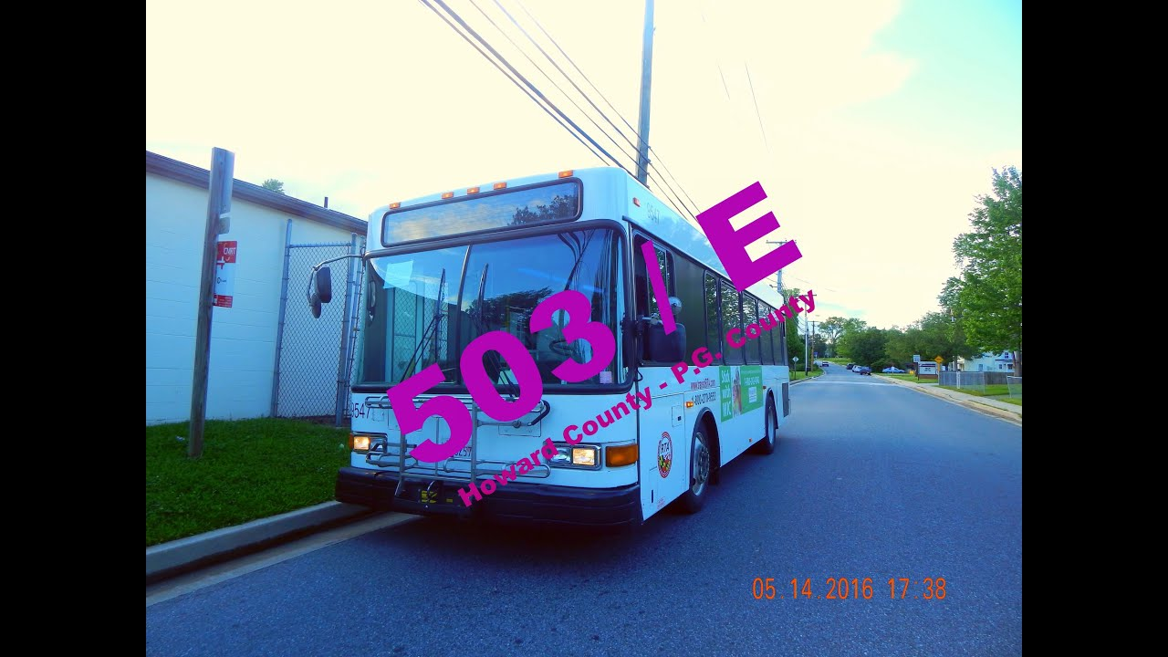 Route 503 e rta of central maryland full ride youtube for Route 1 motors inc laurel md