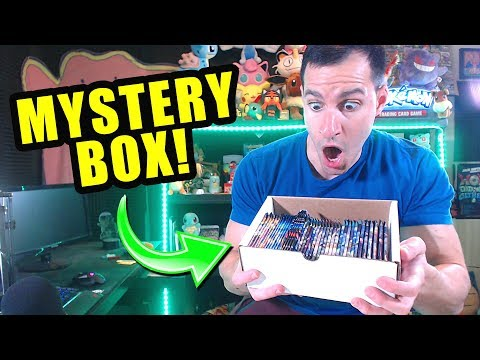 *THIS WAS INCREDIBLE!* Opening Pokemon Cards MYSTERY BOX With A LOT of RARE Booster Packs!