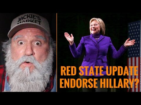 Red State Update Endorses Hillary Clinton?