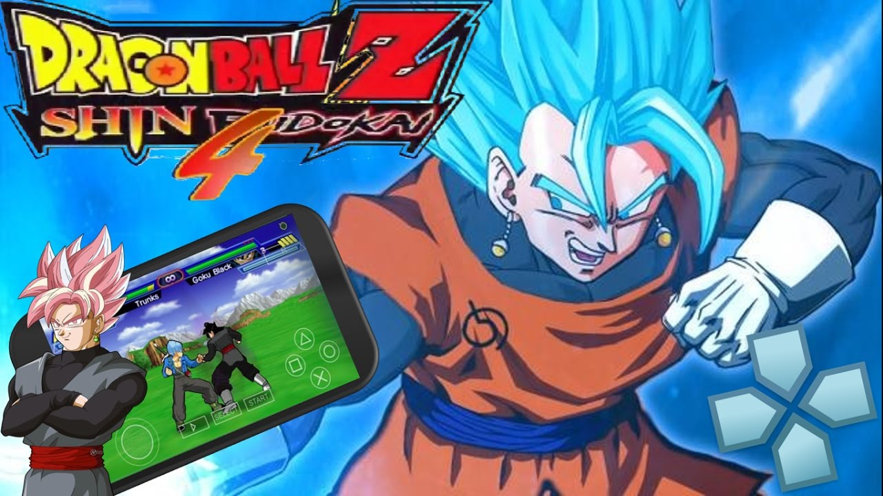 dragon ball z shin budokai 6 ppsspp free download