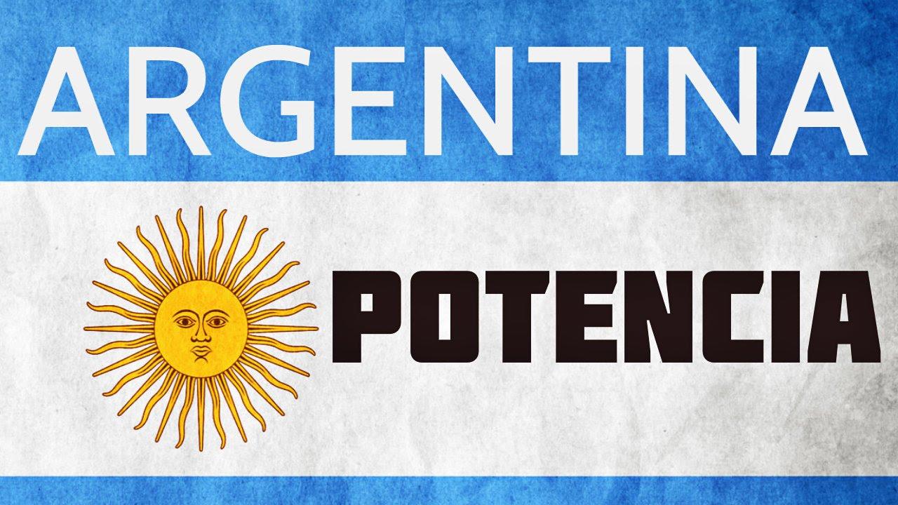Resultado de imagen para argentina potencia
