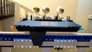 LEGO Monorail that really levitates! (MagLev)