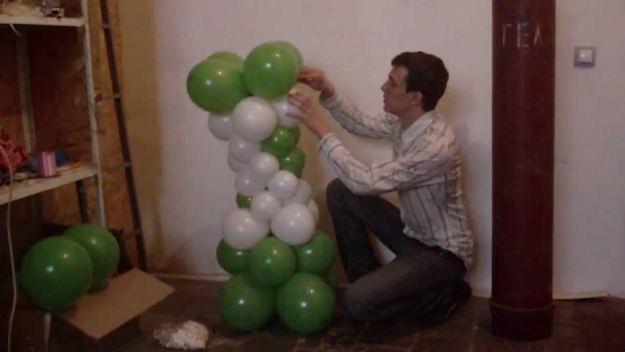 Как сделать вазу из шариков фото 133