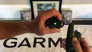 Garmin Sport Pro Transmitter to PT 6 / PT 10 receiver pairing procedure