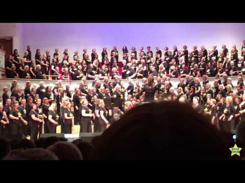 Rock Choir Glasgow City Halls June 2016 'Marys Prayer'