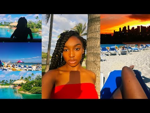 WEEKLY VLOG: traveling to the bahamas & exploring islands   Coco Chinelo