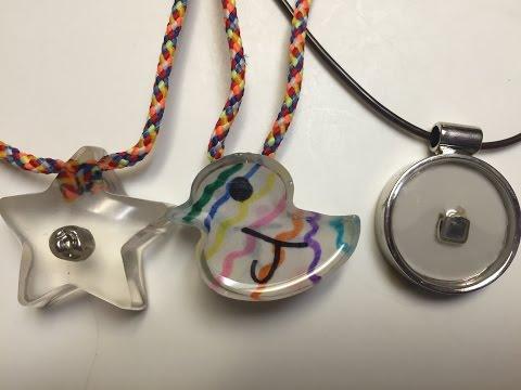DIY Casting Resin, Epoxy - Necklace, pendant