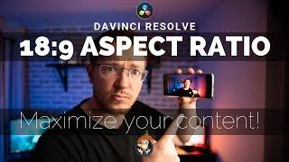 Custom Resolution/Aspect Ratio in Davinci Resolve - 5 Minute Friday #24
