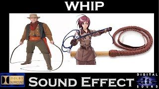 Sound Effects for Whip | Best Whip Sounds