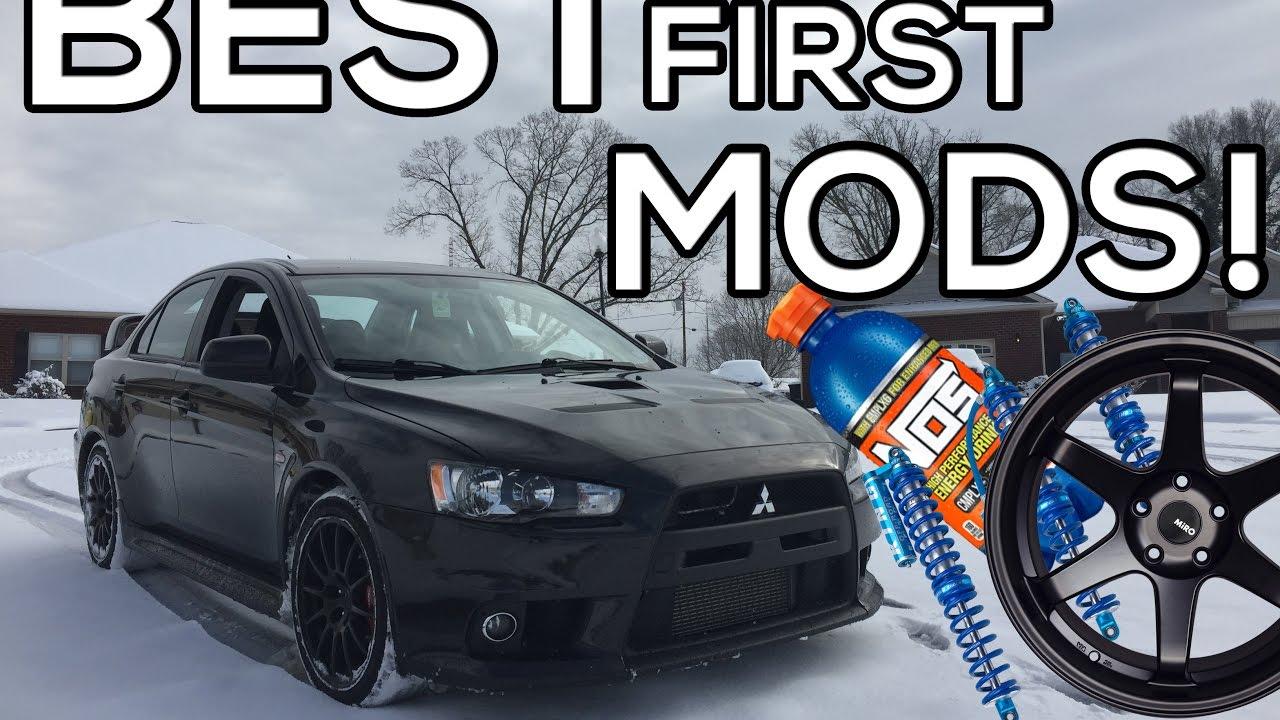 BEST FIRST CAR MODS FOR BEGINNERS!